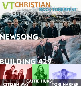 VT Christian Rock-toberfest 2018 @ Barre Auditorium