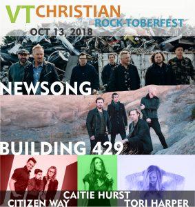 VT Christian Rock-toberfest 2018 @ Barre Auditorium